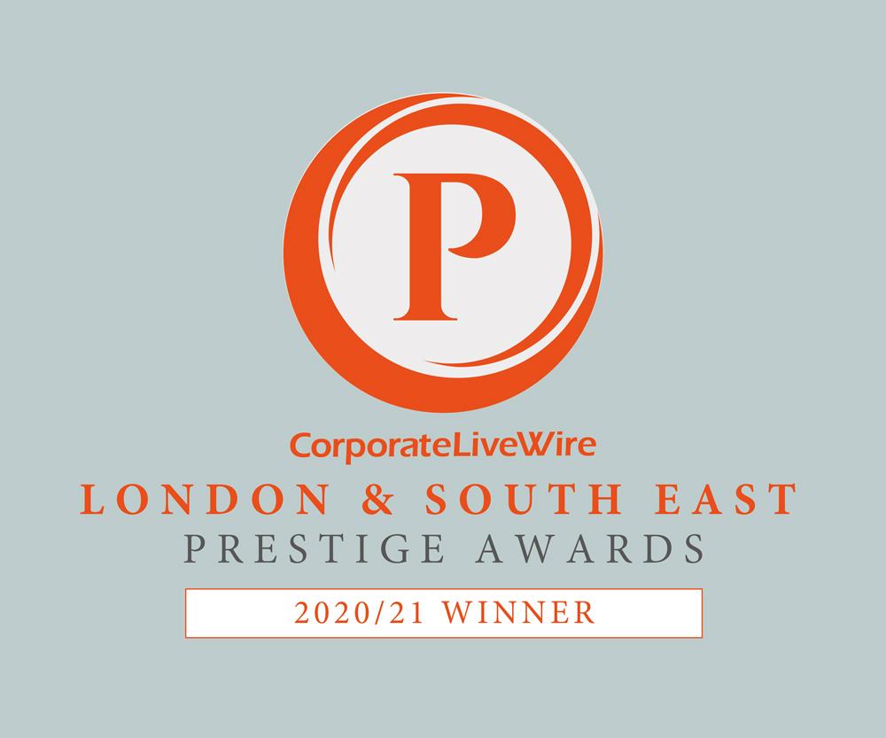 London & South East Prestige Awards Winner